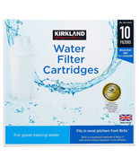 NEW Kirkland Signature Water Filter Cartridge, 10-pack set **FREE SHIPPI... - $43.99