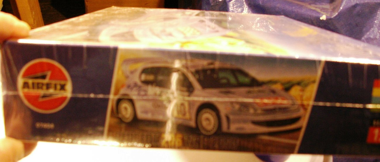 Airfix Peugeot 206 WRC - New Sealed New Lower $$