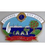 Lions Club Orchard City Kelowna B.C. Canada Dragon Pin - $6.08
