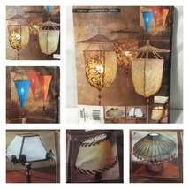 Pendant Light Lamp Shade Sewing Pattern Vogue Patterns 5 Styles Uncut  - $9.87