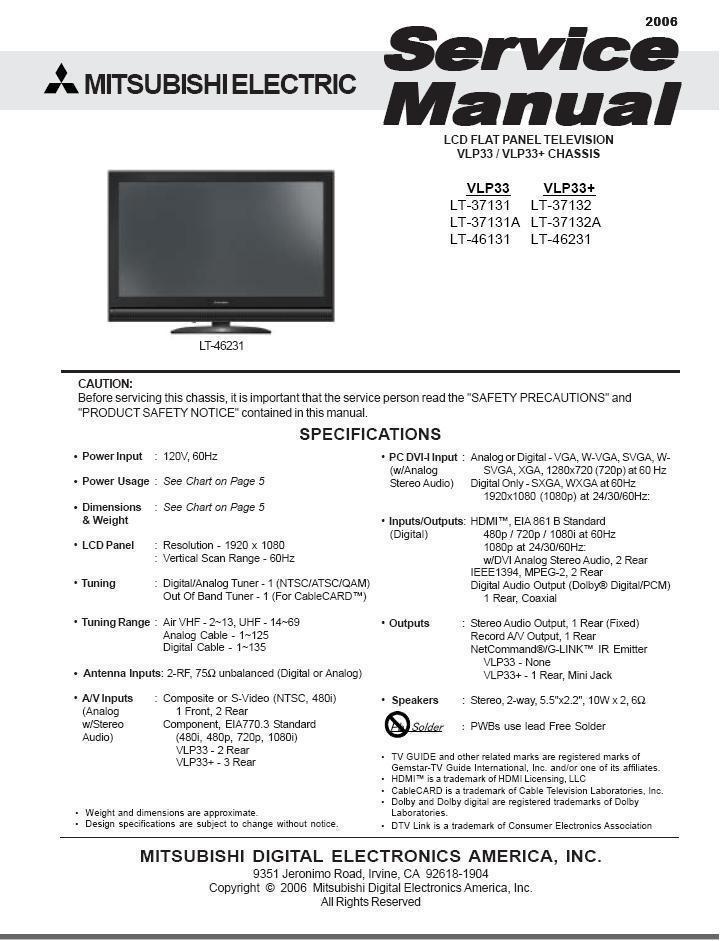 Mitsubishi vlp33