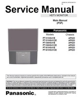 PANASONIC PT-56HX41E PT-56HX41CE SERVICE REPAIR MANUAL - $7.95