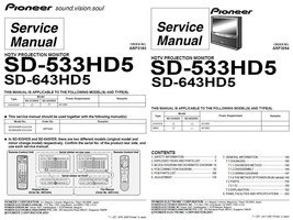 Pioneer sd 533hd5 sd 643hd5 tv service and 50 similar items pioneer arp3163 3094 thumb200 sciox Choice Image