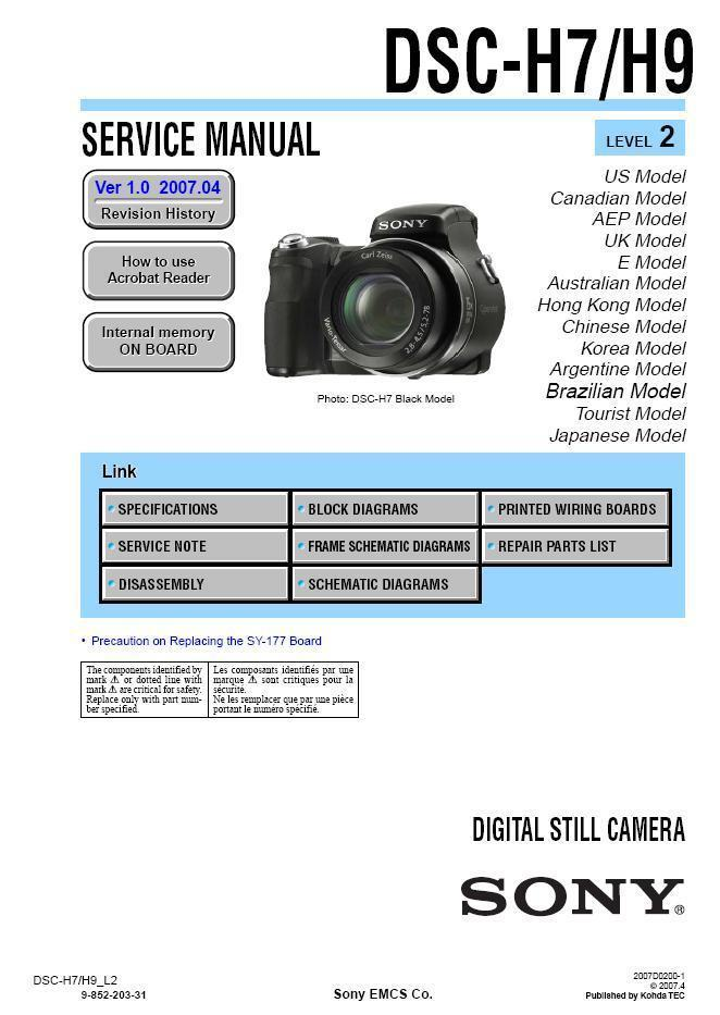 sony dsc h7 dsc h9 digital camera service and 50 similar items rh bonanza com Sony DSC H5 Model Sony Digital Camera