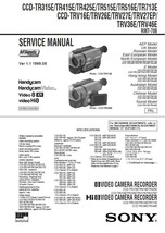 Sony CCD-TR515E CCD-TR516E CCD-TR713E Service Manual - $9.95