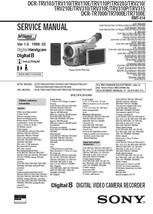 Sony DCR-TRV110P DCR-TRV203 DCR-TRV210 Service Manual - $9.95