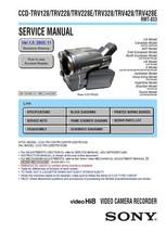 Sony CCD-TRV328 CCD-TRV428 CCD-TRV428E Service Manual - $9.95