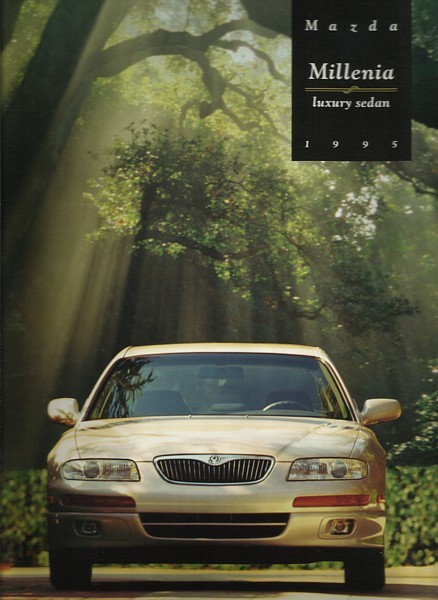 1995 Mazda MILLENIA sales brochure catalog 2nd Edition US 95 S
