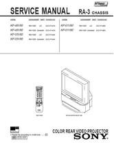 SONY KP-48V80 KP-53V80 KP-61V80 SERVICE REPAIR MANUAL - $7.95