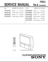 sony kp 43ht20 kp 53hs20 kp 53hs30 service and 50 similar items rh bonanza com Auto Repair Manual Chilton Repair Manual