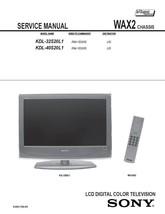 Sony KDL-32S20L1 KDL-40S20L1 Lcd Service Repair Manual - $7.95