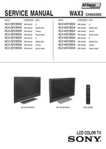 Sony KLV-40V300A KLV-46V300A Tv Service Repair Manual - $7.95