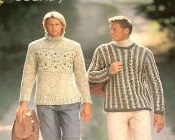 Filati No.2 Mens 25 Knitting Patterns Aran Ski Cardigan Sweaters Hats Scarves