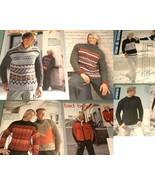Filati No.2 Mens 25 Knitting Patterns Aran Ski ... - $11.00