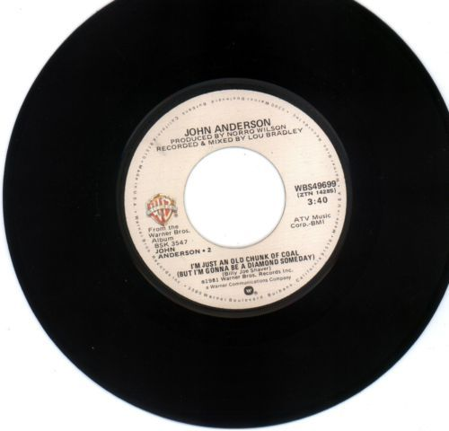 John Anderson 45 rpm I'm Just an Old Chunk of Coal