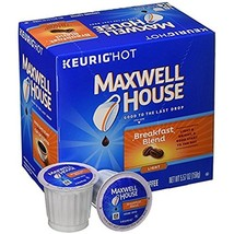 Maxwell House Breakfast Blend Coffee 18 to 90 K cup Pick Any Quantity FR... - $17.99+