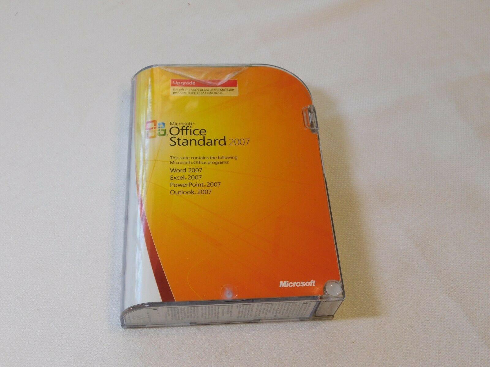 Microsoft Oficina Estándar 2007 PC Actualización 021-07668 Abierto NOS New Word