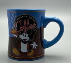 Disney Theme Parks authentic Original Mickeys Really Swell Coffee Brand Mug - $16.93