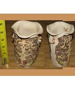 Gorgeous Mucu gres vase VEnezuela deco art ceramic - $9.99