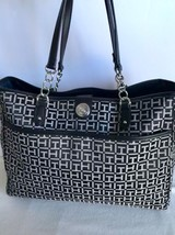 Tommy Hilfiger Hand Bag Womens Purse Pocketbook Shoulder Bag Black New Nwt $99 - $68.31