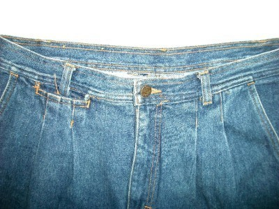 MEN VINTAGE OUTRIGGER DENIM SHORTS 32 W