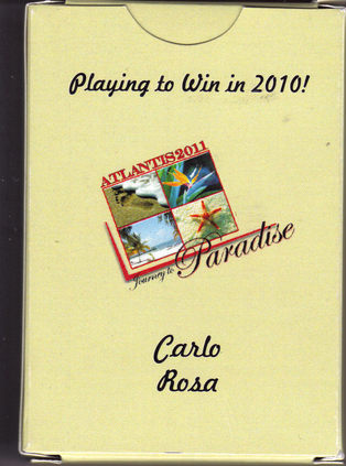 CARLO ROSA JOURNEY TO PARADISE ATLANTIS 2011. Promo Playing