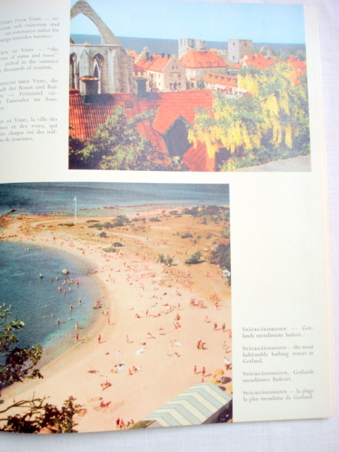 Sverige i farg Sweden in Colour Softcover Book