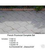 French Provincial Set concrete cement paver sto... - $100.00
