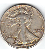 Nice X.F. 1942 Walking Liberty Half. - €16,66 EUR