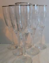 Set Of 6 Galway Irish Crystal Twist Stem Claddagh Glassware NEW - $9.95