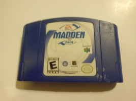 Madden NFL 2001 (Nintendo 64, 2000) Tested And Works Well Great Condition - $14.80