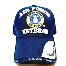 """US Air Force Veteran """"WINGS"""" Cap Hat Blue Embroidered Officially Licensed - $12.37"""