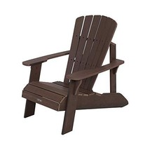 Lifetime 60289 Adirondack Chair, Rustic Brown - $255.75