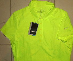 NIKE DRI-FIT WOMENS sz XS VICTORY SOLID POLO GOLF SHIRT 725582 702 MSRP $55 - $7.99