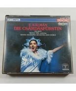 Emmerich Kalman Die Csardasfurstin 2 CD Set 1985 Japan Opretta in 3 Acts  - $36.99
