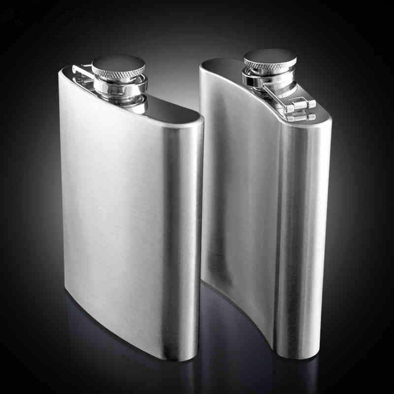 Norwegian Pin Up Girls D9 Flask 8oz Stainless Steel Hip Drinking Whiskey