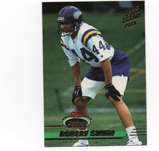 1993 Topps Stadium Club #145 Robert Smith Rookie card VG - $1.25