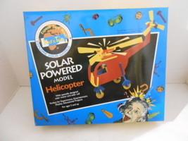KID'S TEK 205 SOLAR POWERED MODEL HELICOPTER MODEL KIT NIB  - $6.59