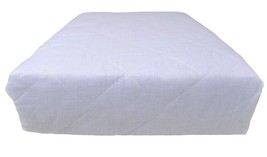8 X SINGLE HOTEL QUALITY WHITE DEEP FITTED ANTI ALLERGENIC MATTRESS PROT... - $53.28