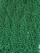 18 Dozen (216) Mardi Gras Beads St Patricks Day Green Necklaces Lot Part... - €33,86 EUR