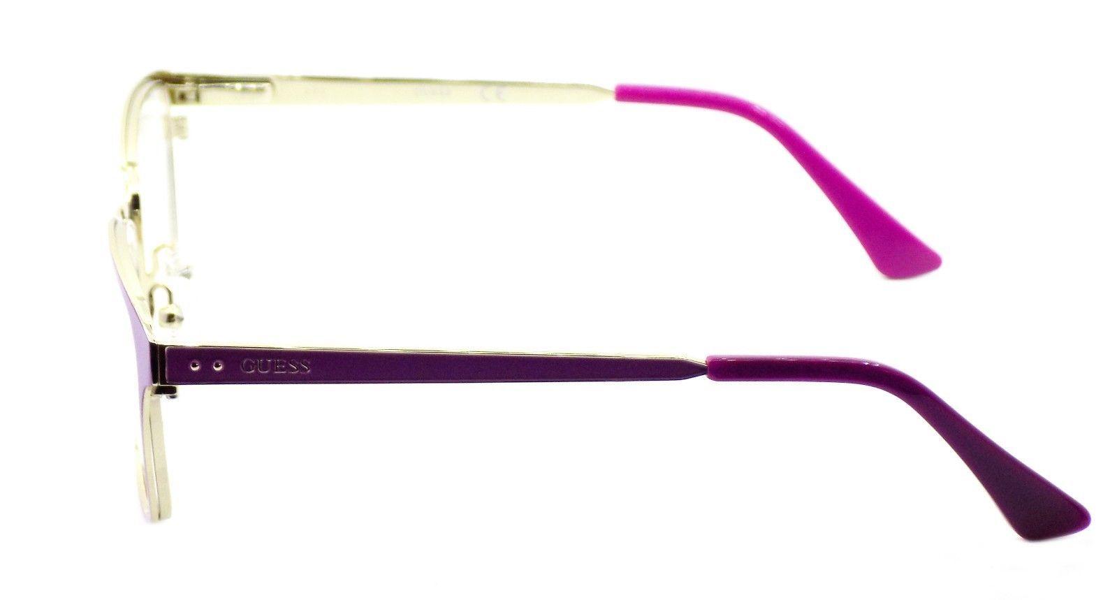 GUESS GU2550 076 Women's Eyeglasses Frames 52-17-135 Matte Fuchsia + CASE