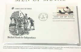 1977 Blacksmith First Day Cover Stamp Readers Digest Collectible Man of ... - $9.84