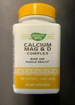 Nature's Way - Calcium Mag And D Complex Bone & Muscles  100 Capsules Ex... - $12.19