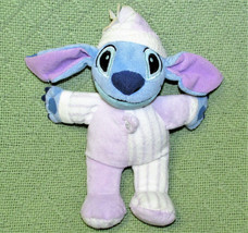 "DISNEY STORE LILO AND STITCH 9"" PLUSH PAJAMA STITCH STUFFED ANIMAL PURPL... - $11.30"