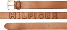 Tommy Hilfiger Men's Premium 38MM Classic Raised Logo Leather Belt image 2