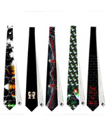 necktie pink floyd rock band musician tribute concert stage guitarist el... - $22.00