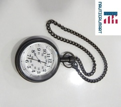 Pocket Watch Nautical Brass Antique Maritime with Key Chain Fully Hand Made - $45.00