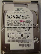 """IBM IC25N020ATCS05-0 20GB 2.5"""" 9.5MM IDE 44PIN Hard Drive Tested Our Drives Work"""