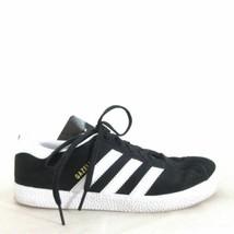 4.5 Mens / 6.5 Womens - Adidas Black White Gazelle Classic Sneakers 0104RM - $26.00