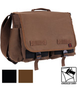 Concealed Carry Messenger Bag CCW EDC Tactical Discreet Shoulder Gun Pistol - $27.99